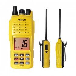 VHF portable 5W - Étanche IPX7 et flottante.  flashlight Navicom