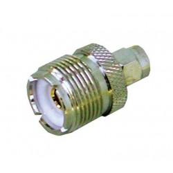 Adaptateur SMA/PL pour branchement antenne exterieure RT320/RT330 Navicom