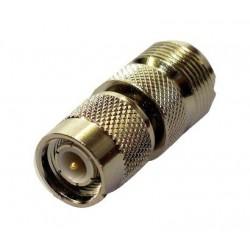 Adaptateur TNC/PL pour branchement antenne fixe (système à vis) Navicom