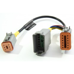 Caterpillar Display 12-pin Adaptor Cable Yacht Devices