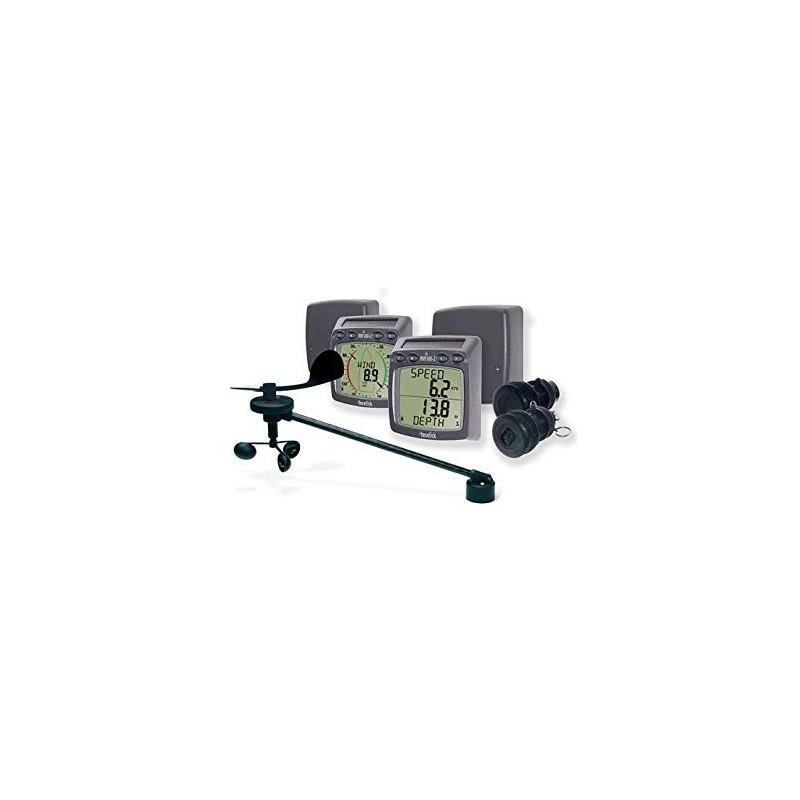 Pack sans fil speedo/sondeur/vent/NMEA (T111-868, T112-868, T120, T121, T122, T911 et T912) Raymarine