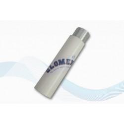 Rallonge antenne en nylon traité anti-UV avec blocage par molette avec rallonge alu 100mm (ANT.VHF)