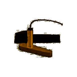 Sonde plastique traversante à faisceau conique HIGH CHIRP angle 20° CPT-S pour Dragonfly