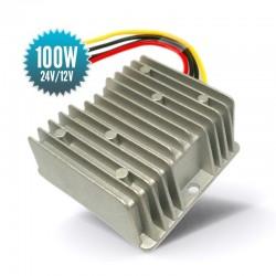 Abaisseur de tension 24V vers 12V 100 Watts  ECDC962412N