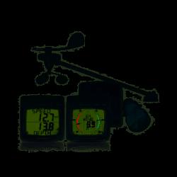 Pack sans fil speedo/sondeur/vent avec Triducer traversant (T111-868, T112-868, T120, T121 et T910)RaymarineT108-868