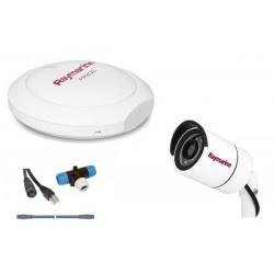 Pack de réalité augmentée comprenant une caméra IP CAM210, un module AR200, dorsale STNG 1 m, raccord en T et câble Raynet de 10