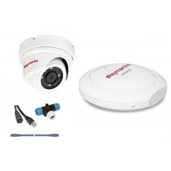 Pack de réalité augmentée comprenant une caméra IP CAM220, un module AR200, dorsale STNG 1 m, raccord en T et câble Raynet de 10
