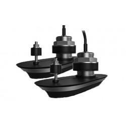 Pack 2 sondes traversantes inox 20° babord / tribord RV-420 , branchement direct AxiomRaymarineT70451