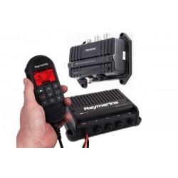 VHF Ray 90 Black box avec AIS 700 Tx et RX ( inclus combiné filaire , speaker passif et câble)RaymarineT70424