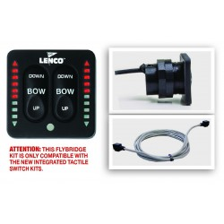 Kit double poste pour flap Lenco avec indicateur de position, gestion intégré 11841Lenco