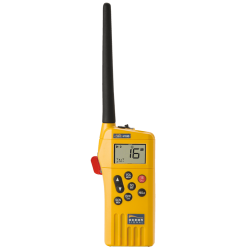 V100 VHF GMDSS Portable + Pile Lithium GMDSS LB4V Ocean Signal