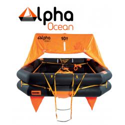 Radeau hauturier ISO9650-1 -24h-Alpha Océan--SeaElec.fr