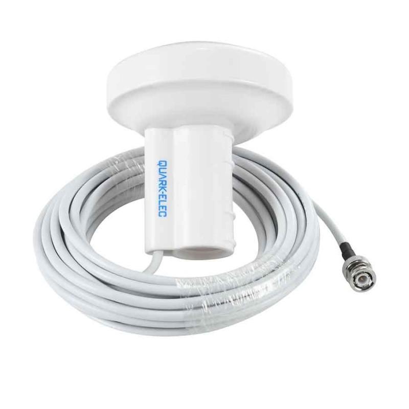 Antenne GPS passive fiche BNC +adaptateur BNC/TNC