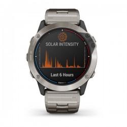 quatix6x Solar, titane avec bracelet en titane Garmin