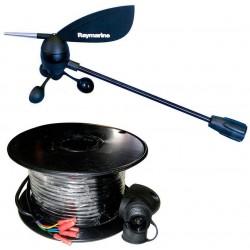 Élément tête de mât court pour girouette câble 30mRaymarineE22078