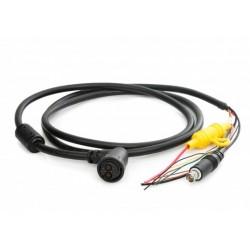 Câble d'alimentation coudé pour AXIOM Pro & XL, a9, a12, c9, c12, e7, e9, e12, e165, eS9, eS12 & gS (1.5m) Raymarine