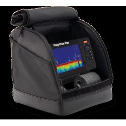 Kit pêche sur glace Element Raymarine (sac, batterie, chargeur, support, sonde et flotteur) Raymarine