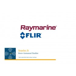 Support d'antenne GPS/VHF inox (montage tribord) Raymarine