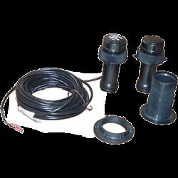Sonde traversante plastique profondeur rétractable câble 13,8m Raymarine