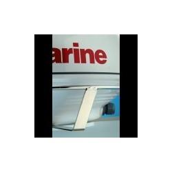 """Rail protecteur de radôme 18"""" (Non compatible avec Quantum) Raymarine"""