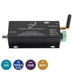 Récepteur AIS et Multiplexeur + WIFI Quark-Elec