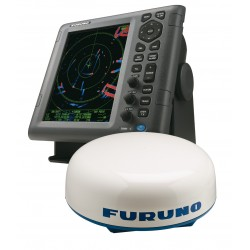 "1835 Radar 10""4 Radôme 60cm/4kW/36MN - Sans câble-FURUNO-IMD02884013-SeaElec.fr"